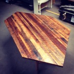 "Old Growth Pine Countertop ""Princess Cut"""